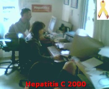 Imágenes de hepatitis c 2000 en tiempo real desde nuestra web cam