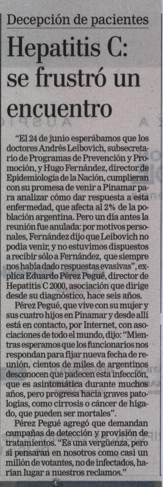 Artículo Diario La Nación  , Argentina