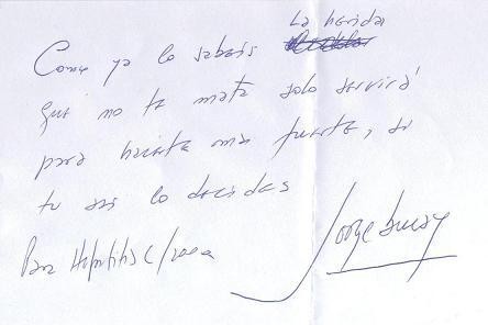 Foto del mensaje de Jorge Bucay para Hepatitis C 2000