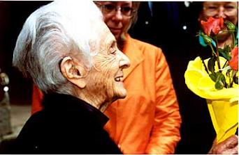 Riva Levi Montalcini , Premio Nobel de la Medicina 1986