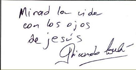 Mensaje de Ricardo Soulé para la gente de Hepatitis C 2000