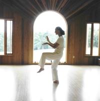 Foto de la práctica del Tai Chi Chuan