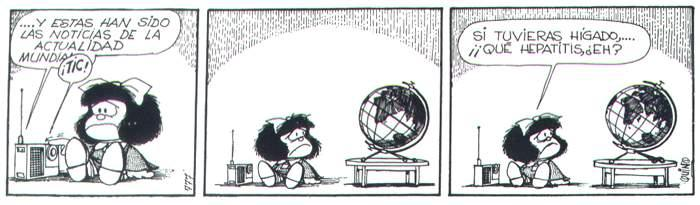 Mafalda y la hepatitis