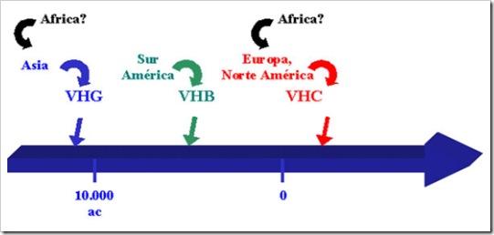 origen virus hepatitis america thumb Hipótesis sobre el origen de los virus de hepatitis en las Américas