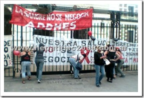 sida-vih-hiv-reclamos-represion-policial
