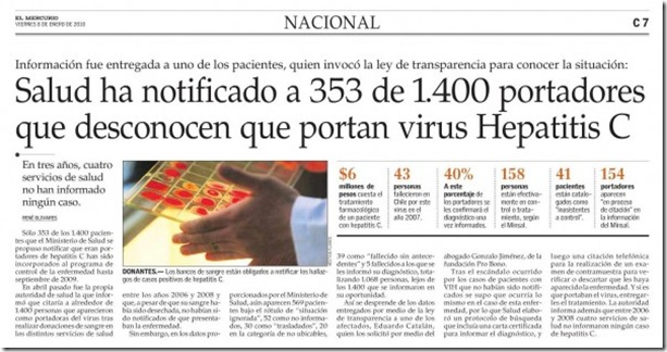 hepatitis c chile
