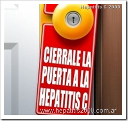 cierrale la puerta a la hepatitis c
