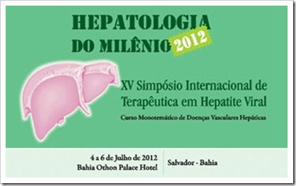 hepatologia do milenio salvador bahia XV simposio internacional terapeutica en hepatite viral