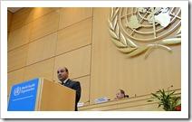 dr juan manzur ministro de salud argentina hepatitis a oms ginebra