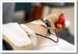 dadores de sangre