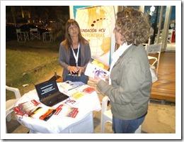 IMG 5893 thumb Mesa de información sobre Hepatitis B y C en Pinamar 2013
