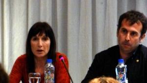 María Eugenia de Feo Moyano (HCV Sin Fronteras), Giovanni Ravasi (OPS Brasil), En Huesped