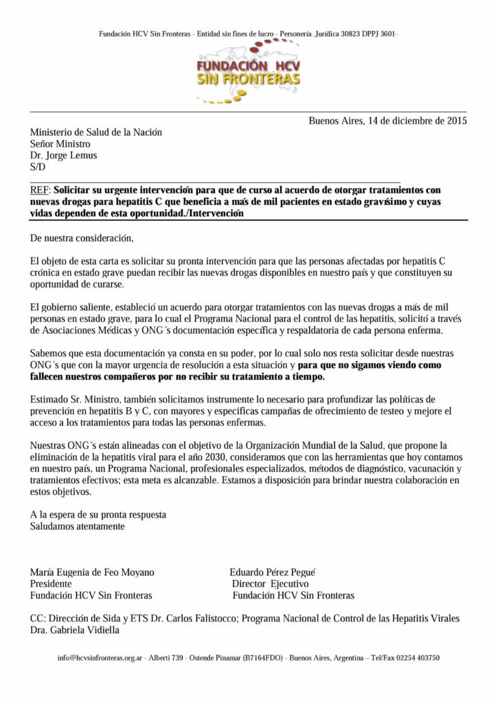 carta ministro ttos urgentes dic 2015