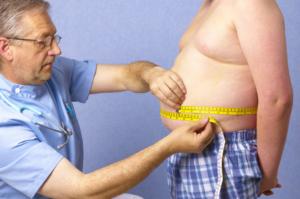medida cintura grasa abdominal