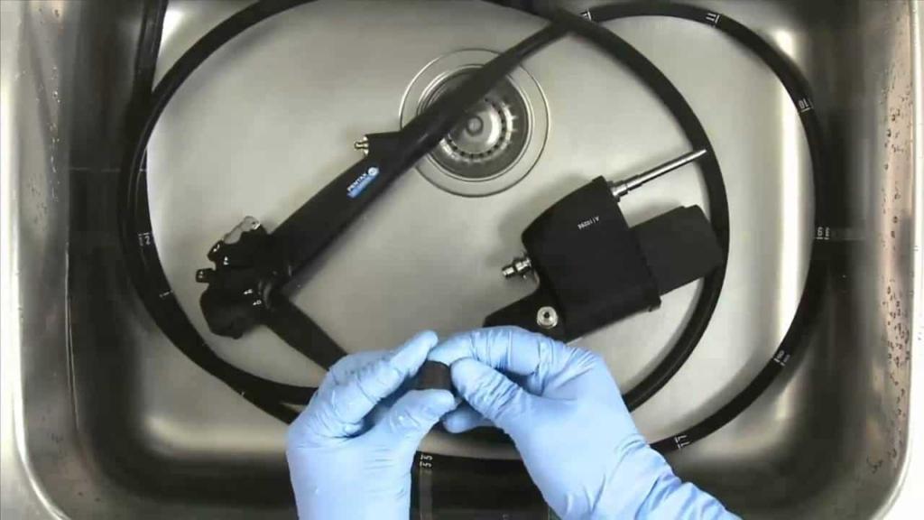 hepatitis higiene endoscopio