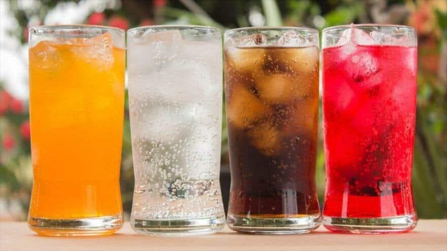bebidas con fructosa