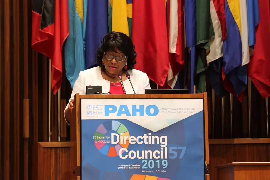 La directora de la OPS, Carissa F. Etienne