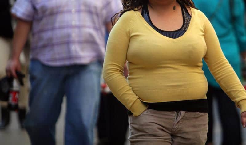 hígado graso en mujer jóven con sobrepeso