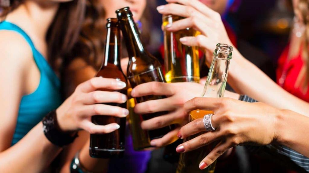 hígado graso en jóvenes por consumo excesivo de alcohol
