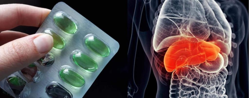 Ibuprofeno y el hígado
