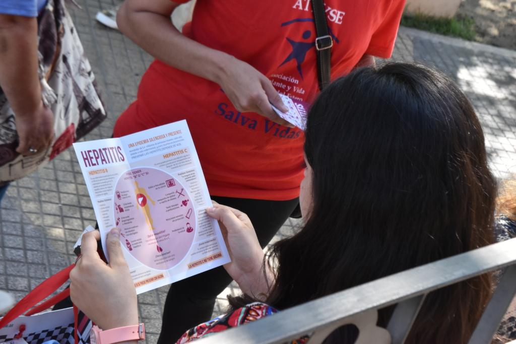 Campaña de Información sobre hepatitis virales de Fundación HCV Sin Fronteras en Santiago del Estero- Argentina