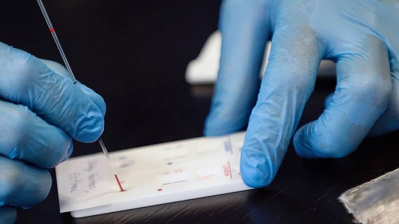 test de covid en sangre