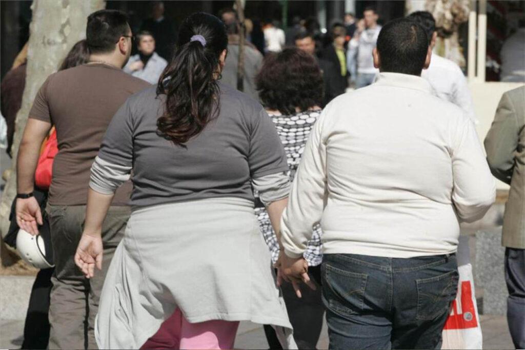 población con sobrepeso en américa Latina