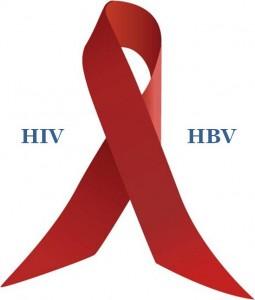 cinta distintiva de las personas con VIH .Hepatitis B y VIH